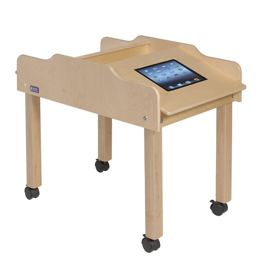 """Steffy Wood Products 35"""" x 19"""" Novelty Activity Table"""
