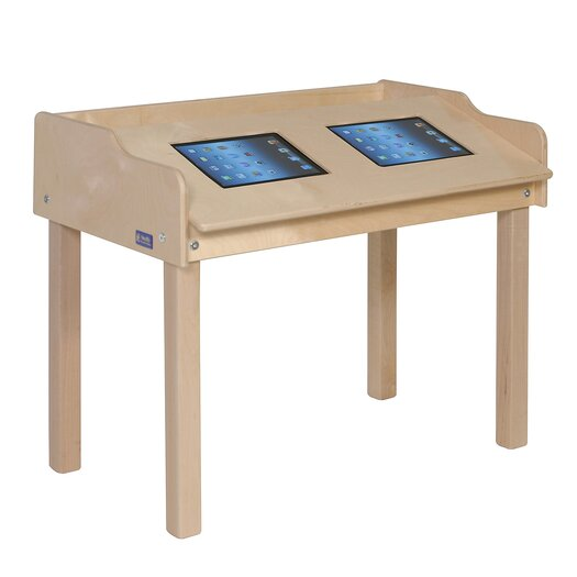 """Steffy Wood Products 35"""" x 21"""" Rectangular Classroom Table"""