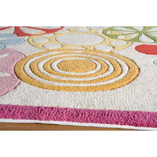 Momeni Lil' Mo Hipster Ivory Area Rug