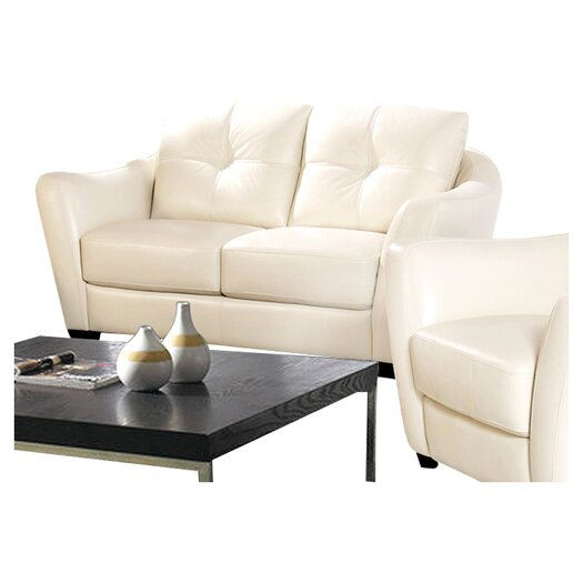 Sofas to Go Carrigan Leather Loveseat