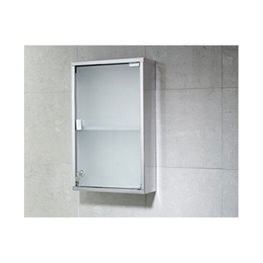 """Gedy by Nameeks Joker 11.8"""" x 19.7"""" Surface Mounted Medicine Cabinet"""