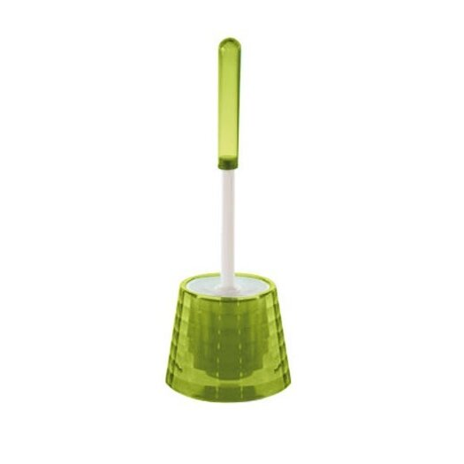 Gedy by Nameeks Glady 2 Piece Toilet Brush & Canister Set