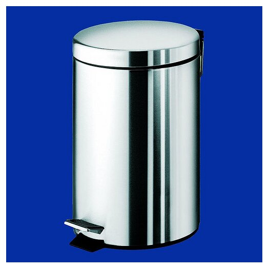 Gedy by Nameeks Argenta Small Pedal Waste Bin