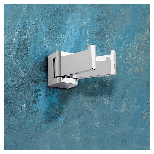 Gedy by Nameeks Glamour Wall Mounted Jointed Double Robe Hook