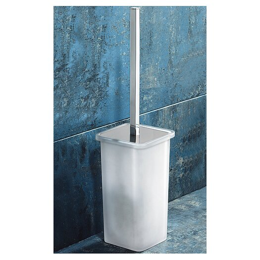 Gedy by Nameeks Glamour Wall Mounted Toilet Brush Holder in Chrome