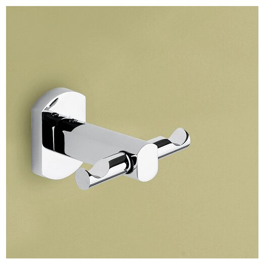 Gedy by Nameeks Edera Wall Mounted Double Robe Hook
