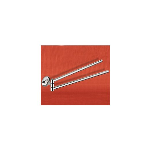 Gedy by Nameeks Ascot Wall Mounted Double Towel Bar
