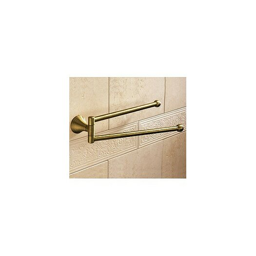 Gedy by Nameeks Romance Wall Mounted Double Towel Bar