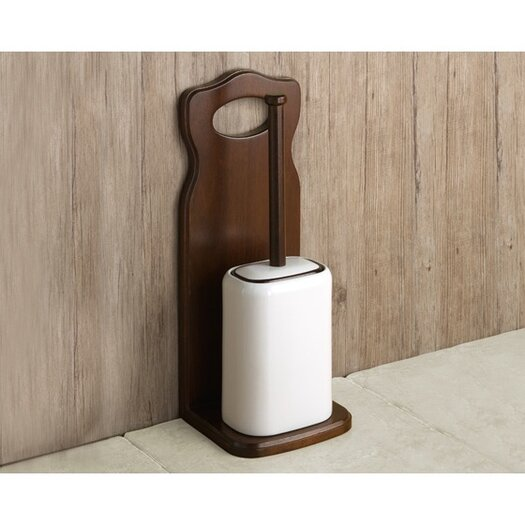 Gedy by Nameeks Montana Free Standing Toilet Brush and Holder