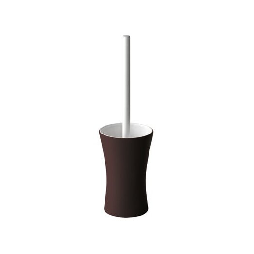 Gedy by Nameeks Mughetto Free Standing Toilet Brush and Holder