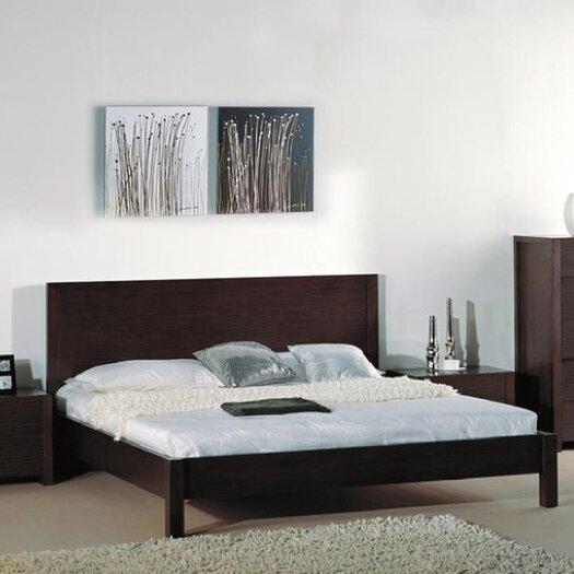Beverly Hills Furniture Etch Platform Bed