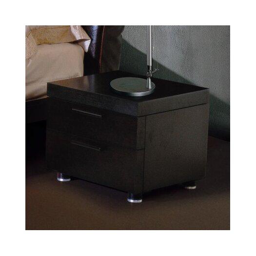 Beverly Hills Furniture Milano 2 Drawer Nightstand