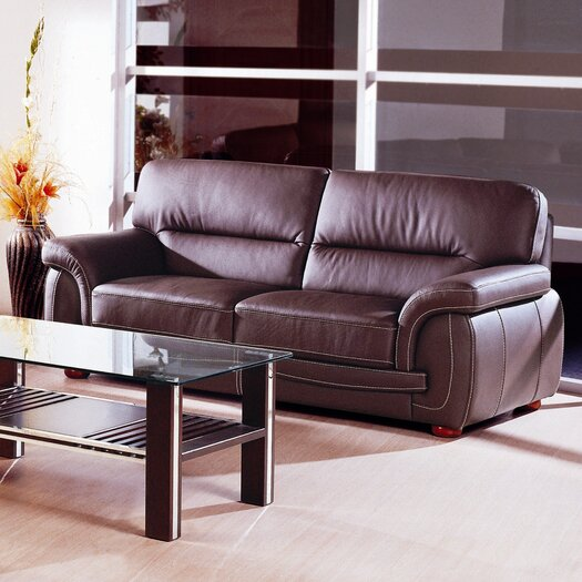 Beverly Hills Furniture Sienna Leather Sofa
