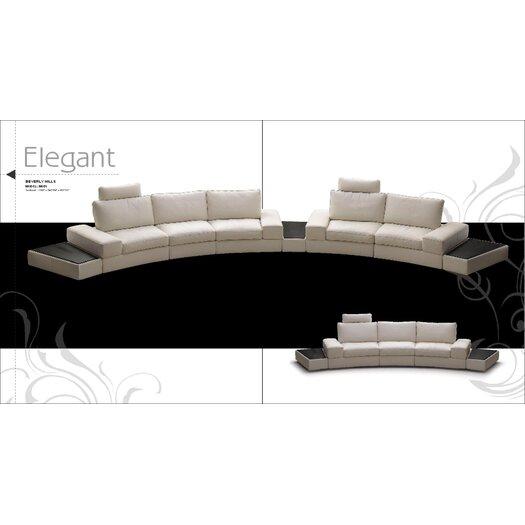 Beverly Hills Furniture Modi Modular Sectional