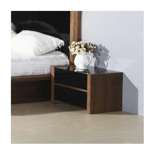 Beverly Hills Furniture Stark 2 Drawer Nightstand