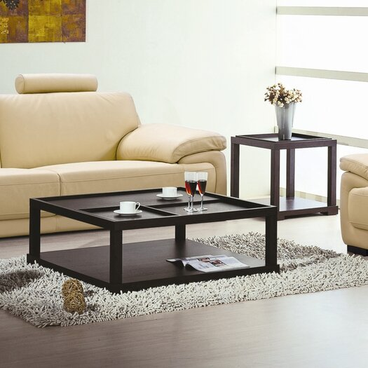 Beverly Hills Furniture Parson End Table