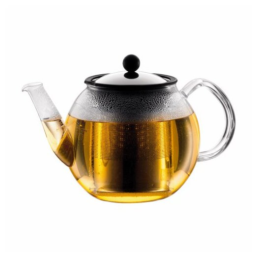 Bodum Shin Cha 1.06-qt. Teapot with Handle and Spout and Infuser
