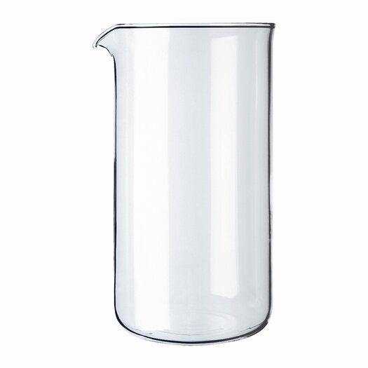 Bodum 12 oz. Plastic French Press Shatterproof Replacement Beaker