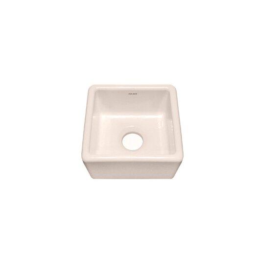 "Julien F110 15"" x 15"" Undermount Single Bowl Specialty Kitchen Sink"