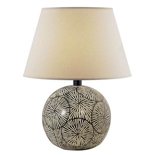 """Anthony California Morgan 23"""" H Table Lamp with Empire Shade"""