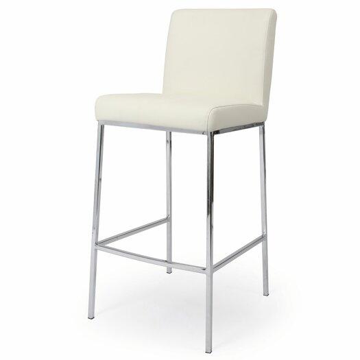 "Pastel Furniture Emilia 30"" Bar Stool with Cushion"