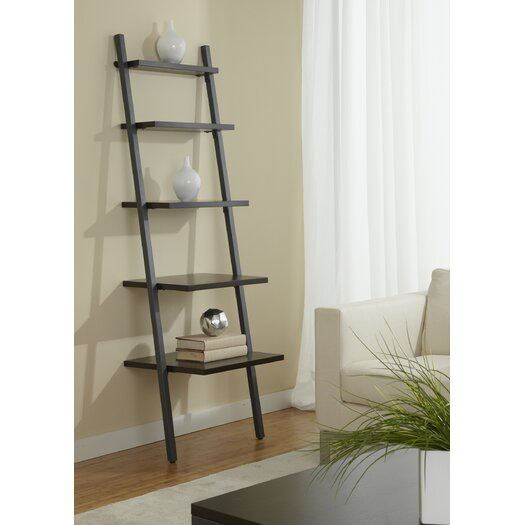 "Jesper Office Parson 71"" Leaning Bookcase"