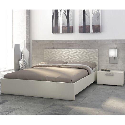 Stellar Home Furniture Sienna Platform Customizable Bedroom Set