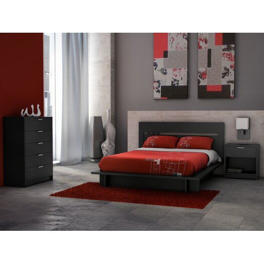 Stellar Home Furniture Milan 5 Drawer Chest