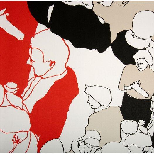 Marimekko Ystavat 33' x 27'' Figural Wallpaper
