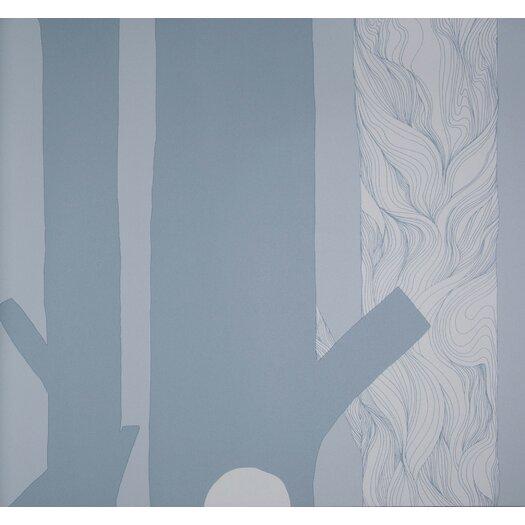 "Marimekko Aarni 33' x 27"" Floral and Botanical Wallpaper"