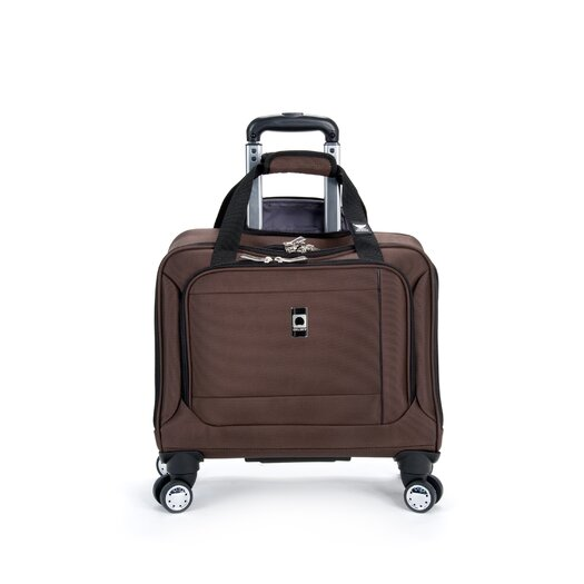 """Delsey Helium Breeze 4.0 17"""" Spinner Trolley Tote"""