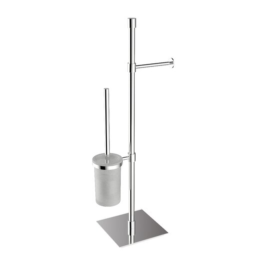 WS Bath Collections Complements Freestanding Rampin Towel Stand