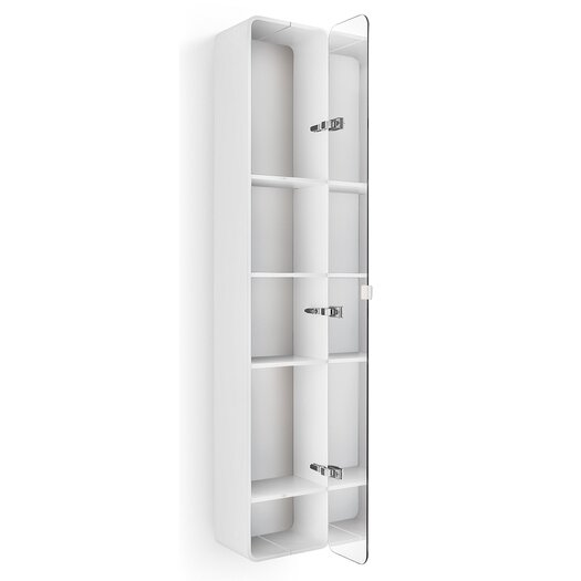 "WS Bath Collections Linea Bej 12"" x 63.39"" Wall Mounted Cabinet"