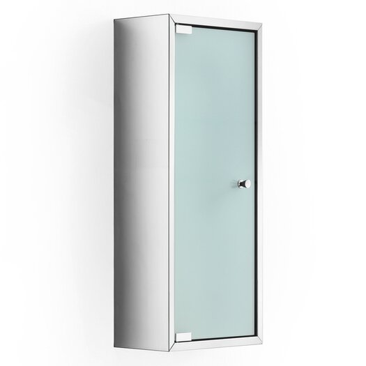 "WS Bath Collections Linea Pika 9.8"" x 23.6"" Surface Mount Medicine Cabinet"