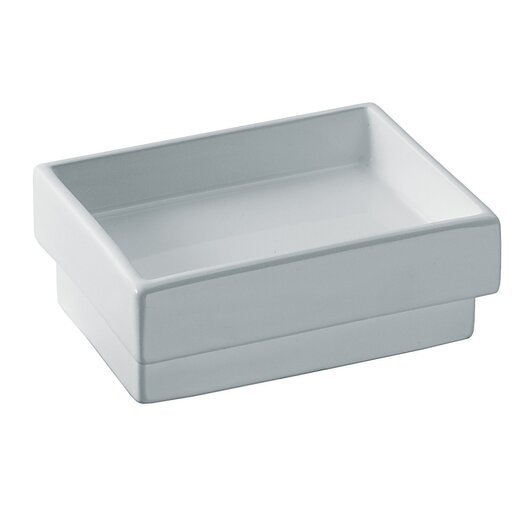WS Bath Collections Skuara Soap Dish