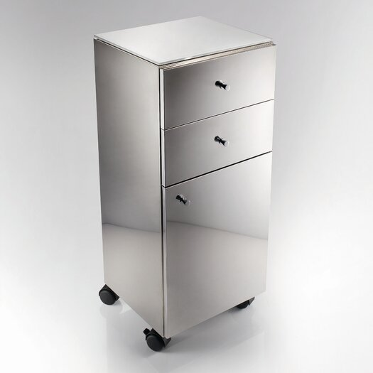 WS Bath Collections Linea 1 Door Storage Cabinet