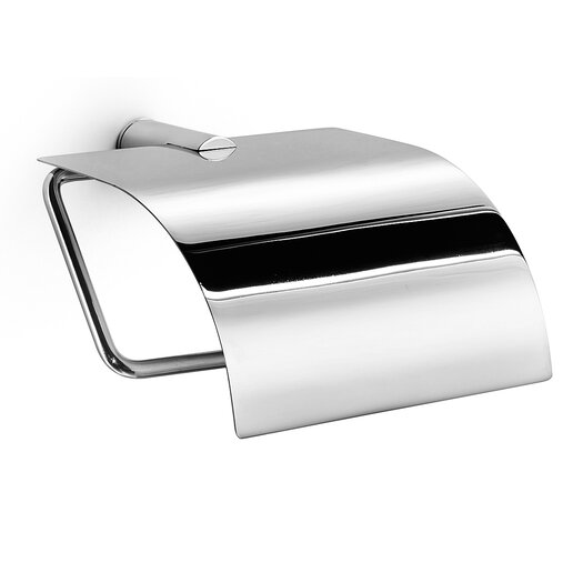 WS Bath Collections Picola Toilet Paper Holder with Lid