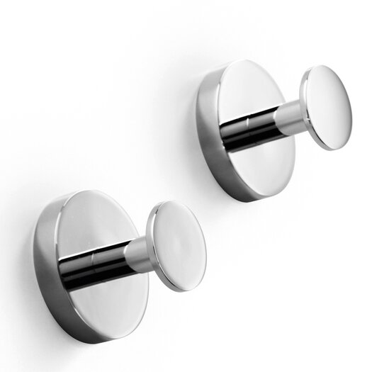 WS Bath Collections Duemila Wall Mounted Single Hook