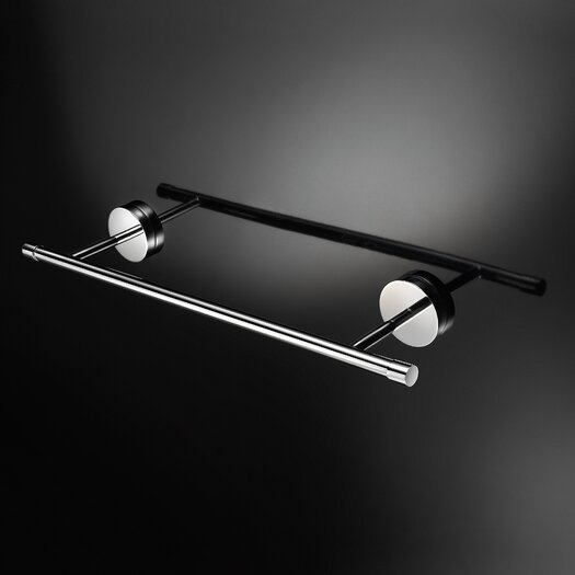 WS Bath Collections Duemila Wall Mounted Single Towel Bar