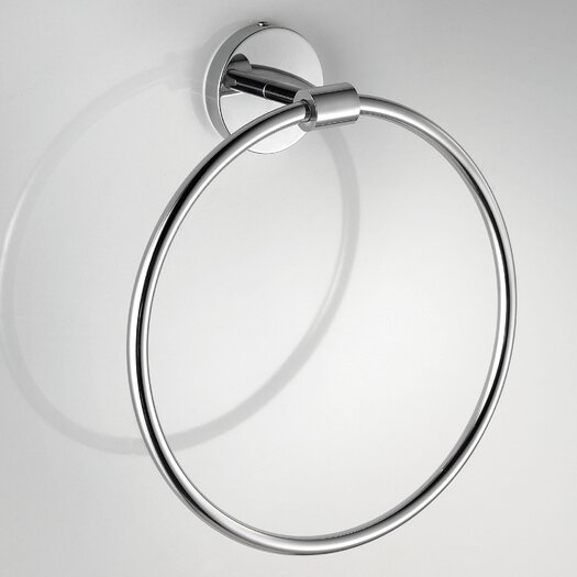 WS Bath Collections Duemila Wall Mounted Towel Ring