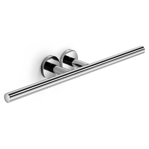 WS Bath Collections Napie Wall Mounted Bathroom Double Towel Bar