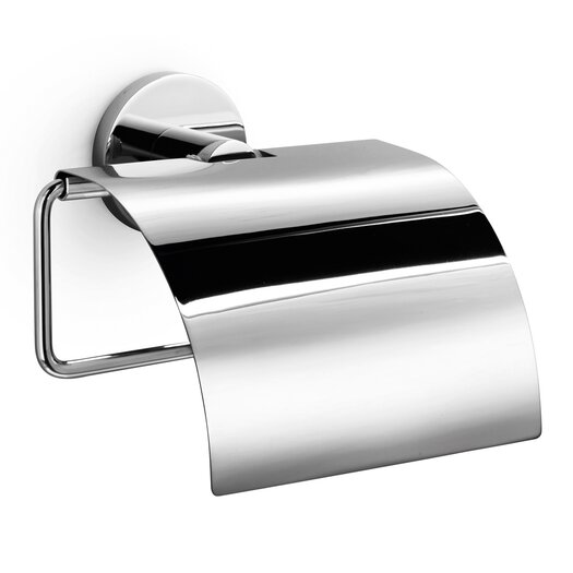 WS Bath Collections Napie Wall Mounted Toilet Paper Dispenser with Cover