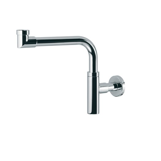 WS Bath Collections Linea Decorative P-Trap