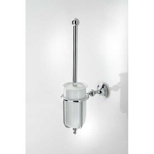 WS Bath Collections Venessia Wall MountedToilet Brush and Holder