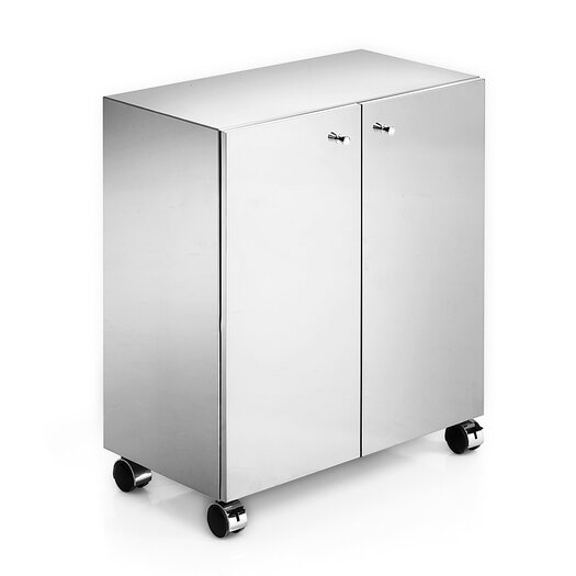 WS Bath Collections Linea 2 Door Storage Cabinet