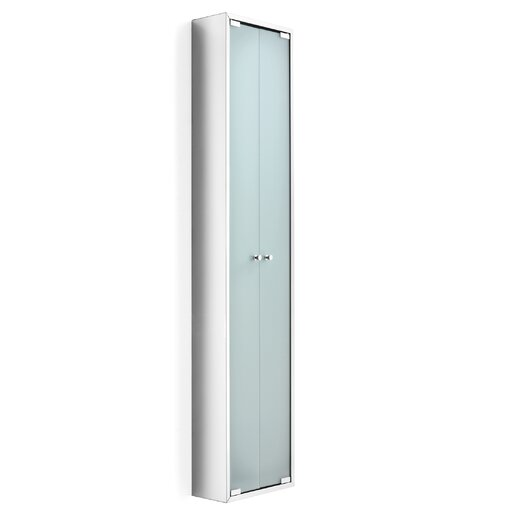 "WS Bath Collections Linea 11.81"" x 55.1"" Free Standing Linen Tower"