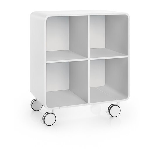 """WS Bath Collections Linea 23.6"""" x 28.3"""" Free Standing Cabinet"""