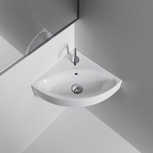 Apartment Kitchen Sink Clogged: WS Bath Collections Kerasan Cento Wall Mounted / Vessel