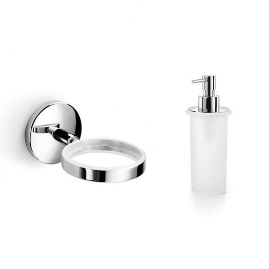 WS Bath Collections Baketo Soap Dispenser Holder with Soap Dispenser