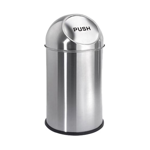 Intro 2.6-Gal Pushman Trash Can